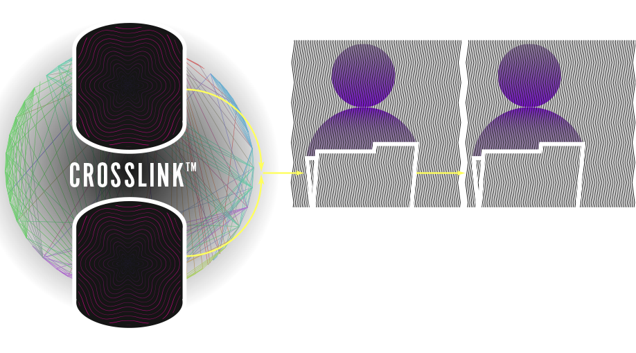 Diagram of how Crosslink manages data